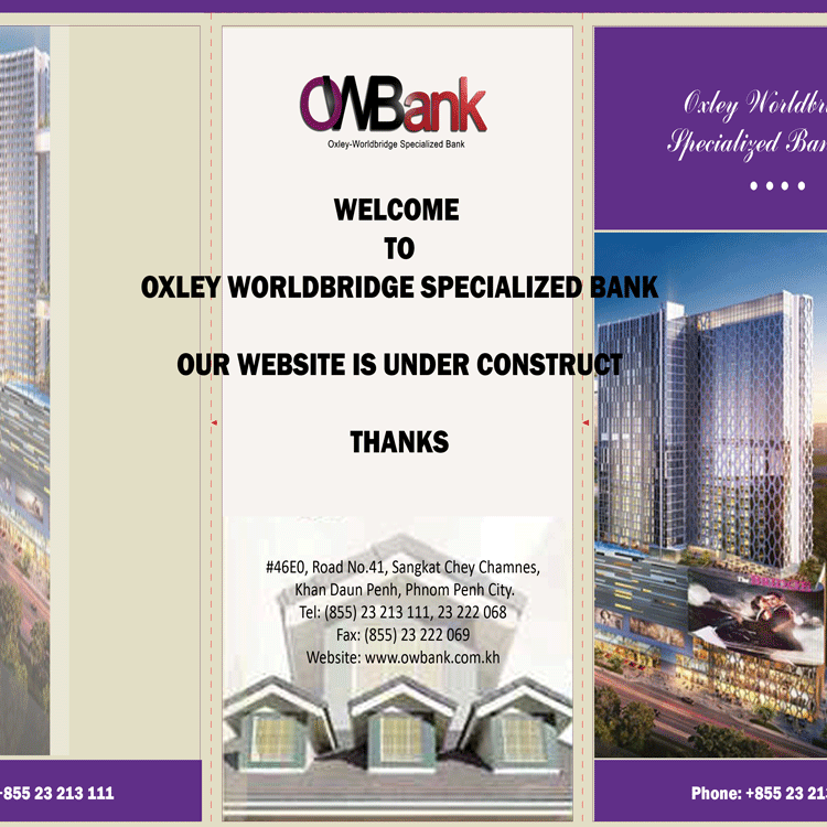Oxley-Worldbridge Specialized Bank