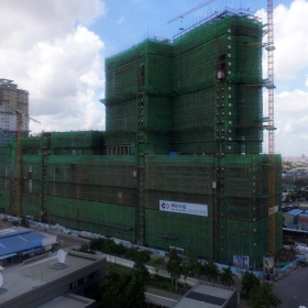 Construction on July 2016