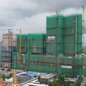 Construction on September 2016