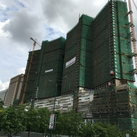 Construction on May 2017