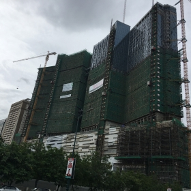 Construction on July 2017