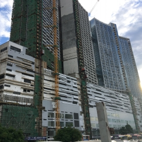 Construction on October 2017