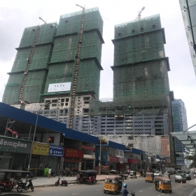 Construction on June 2019